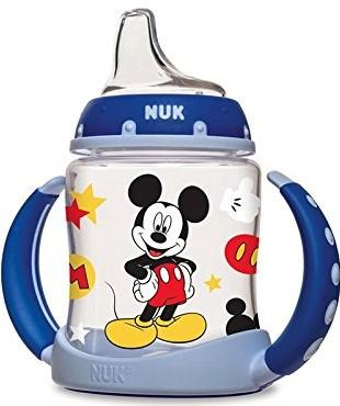 NUK Disney Mickey Mouse Learner Cup with Silicone Spout