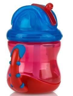 Nuby Two Handle Flip-N-Sip Straw Cup