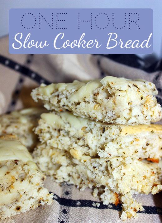 One Hour Slow Cooker Bread Recipe