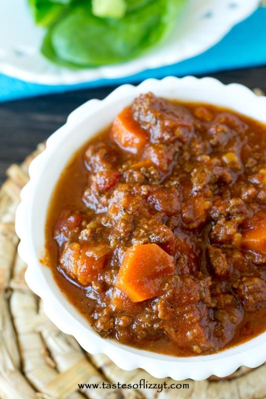 Paleo Sweet Potato Chili Recipe