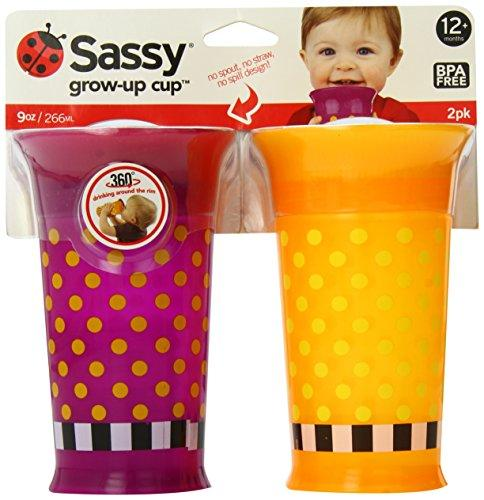 Sassy 2 Count Grow Up Cup