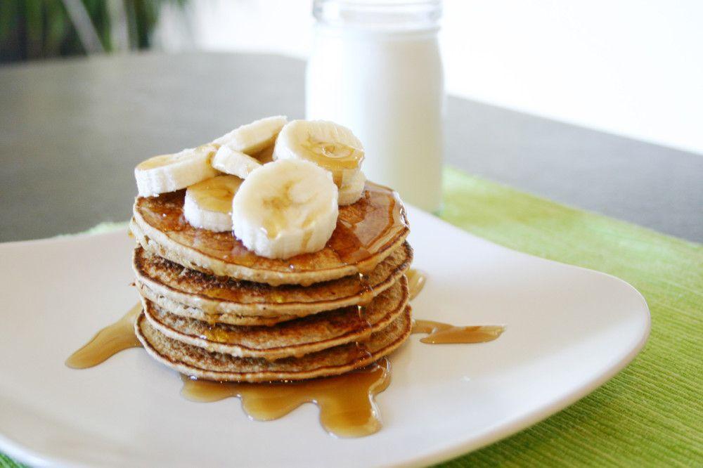 Skinny Mini Banana Pancakes Recipe
