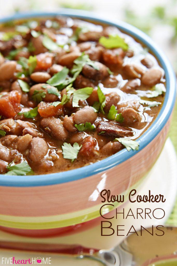 Slow Cooker Charro Beans Recipe