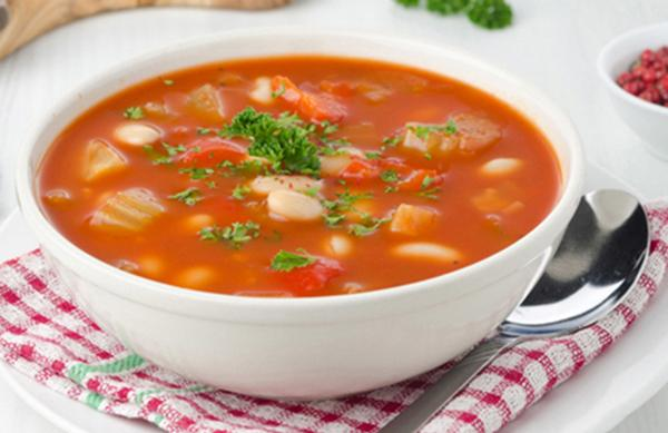 Slow Cooker Hearty Vegetable and Bean Soup Recipe