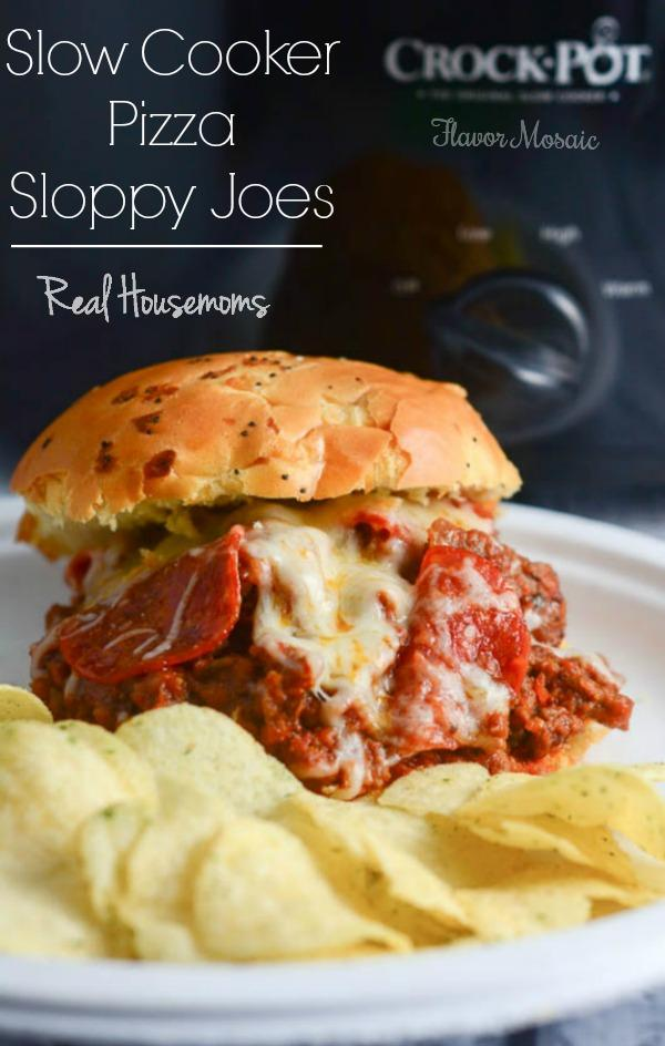 Slow Cooker Pizza Sloppy Joes Recipe