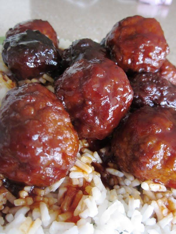 Slow Cooker Sweet and Tangy Meatballs Recipe