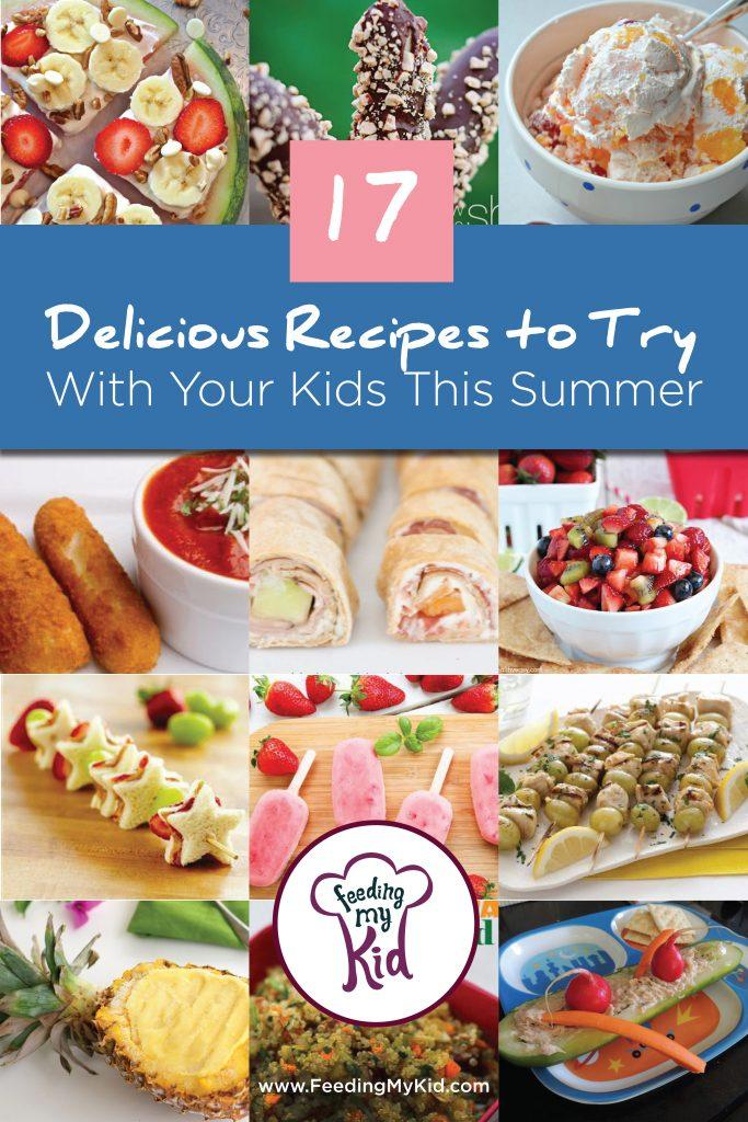 17 Delicious Recipes to Try With Your Kids This Summer
