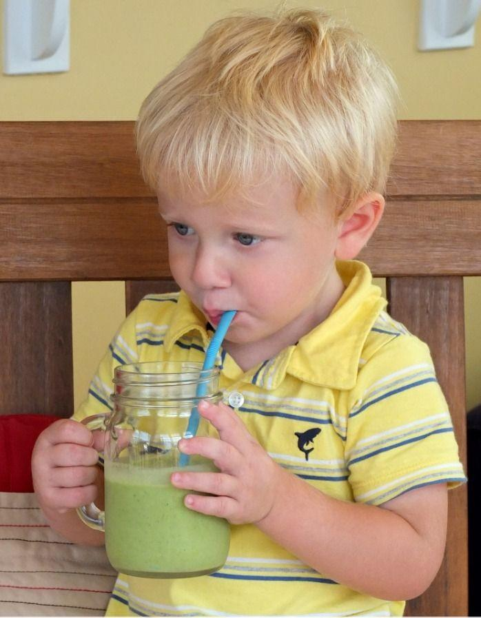 Toddler Friendly Green Smoothie Recipe