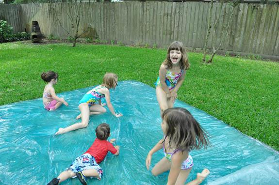 BBQ Party Ideas for Kids-DIY Water Blob