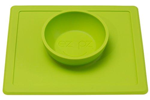 Feeding My Kid''s Top Picks: Ezpz Happy Mat. This two in one placemat + bowl suctions to the table, which means that it captures kids' messes and doesn't allow for tipped bowls