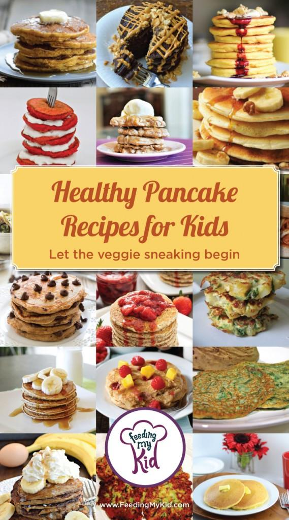 We created a list of pancakes that everyone will love. With healthier flours and less sugar, there's a healthy pancake recipe in here for everyone!