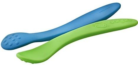 oogaa Silicone Baby Weaning Spoons