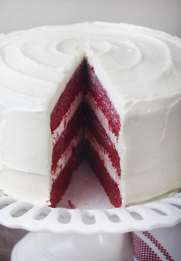 red velvet cake. all natural. no red dye. Recipe