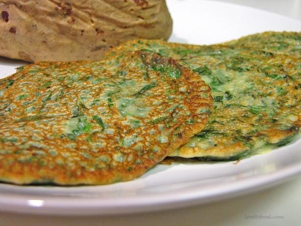 Spinach Pancake Recipe