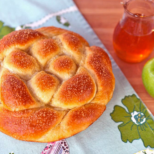 Apple Honey Challah Recipe