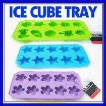 3 Silicone Ice Cube Maker Jelly Chocolate Cake Mold Tray New