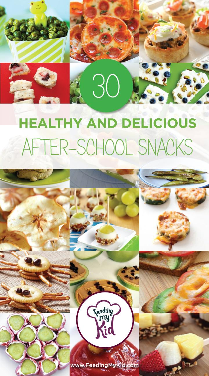 30 Healthy and Delicious After-School Snacks - Try these great after school snack ideas that are perfect for the whole family! These healthy after school snack recipes are amazing and tasty! This is a must share!