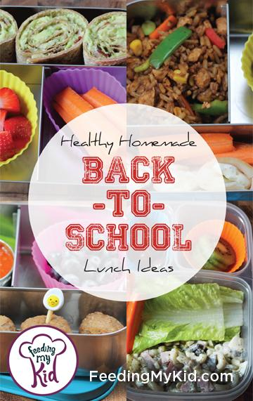 Healthy Homemade Back-To-School Lunch Ideas. Check out this awesome list of fun and easy recipe ideas to try this school year!