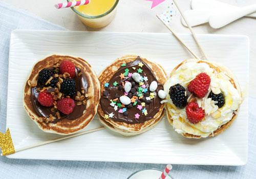 Back to School Pancake Bar