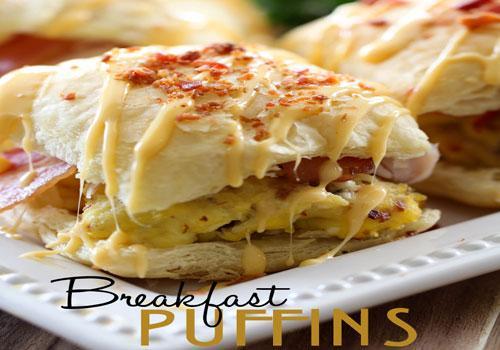 Breakfast Puffins Recipe