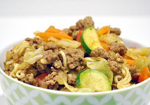 Beef Chow Mein With Noodles