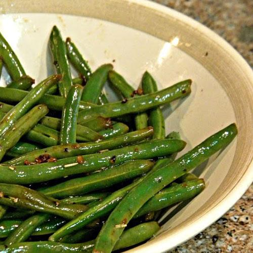 Rosemary And Lemon Haricot Verts