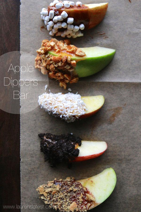 Rosh Hashanah- Apple Dippers Bar