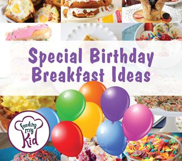 Special Birthday Breakfast Ideas. Growing up, birthdays are also so exciting and special. We have put together a list of some awesome breakfast ideas to make your little one feel even more special!