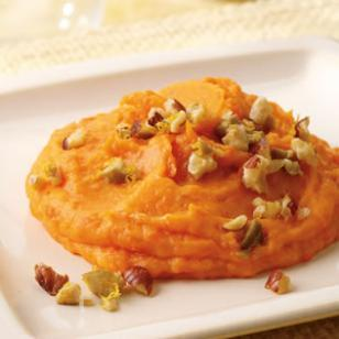 Rosh Hashanah= Carrot Puree with Hazelnut Tapenade