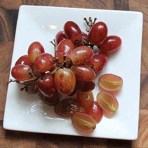 Cut Up Grapes