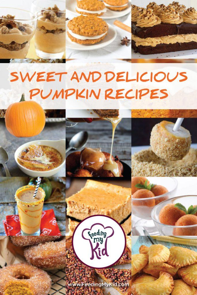 Sweet and Delicious Pumpkin Recipes. We have put together a list of super delicious pumpkin recipes to satisfy the pumpkin craving we all seem to get when fall rolls around!