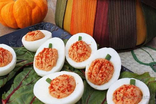 Thai Spiced Deviled Eggs