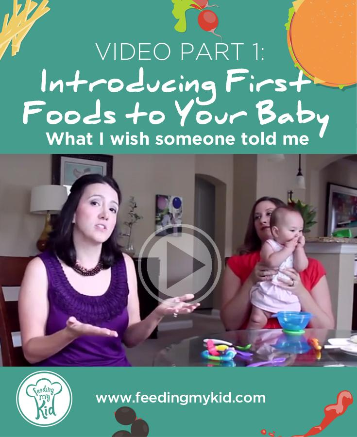 Video: Introducing First Foods to Your Baby: What I wish someone told me [Part 1]