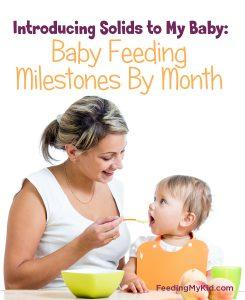 Introducing Solids Understanding Your Baby's Feeding Milestones
