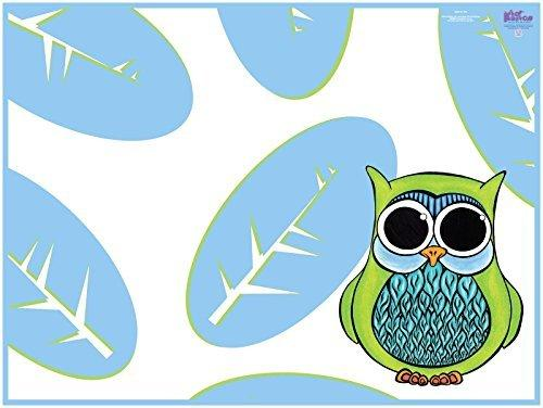 Feeding My Kid's Top Picks: KidKusion High Chair Splat Mat, Owl