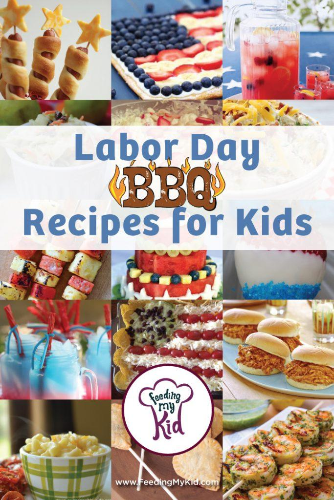 Labor Day BBQ Recipes for Kids. Labor Day marks the unofficial end of summer, so why not throw an awesome Labor Day BBQ! We have compiled a list of fun and kid friendly BBQ recipes