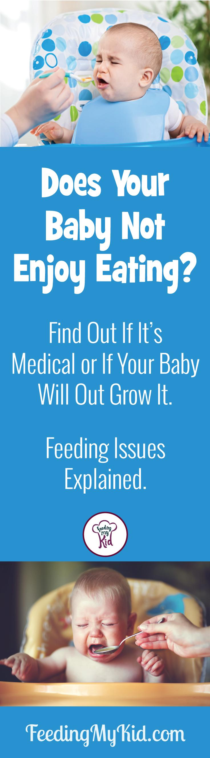 Does Your Baby Not Enjoy Eating? Is it Medical?
