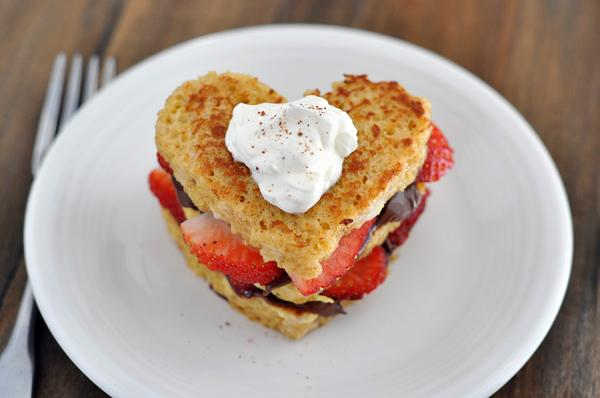 Birthday Breakfast Ideas- Nutella and Strawberry Stuffed French Toast