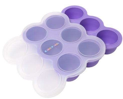 Original Freezer Tray With a Silicone Clip-On Lid