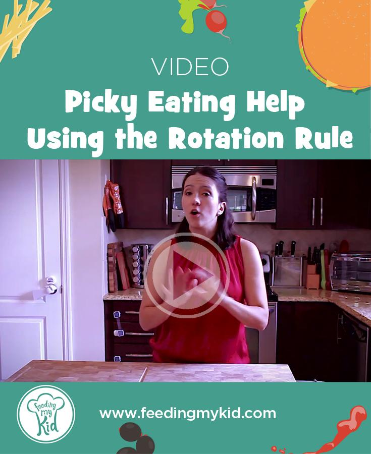 PIcky Eating Help Using the Rotation Rule
