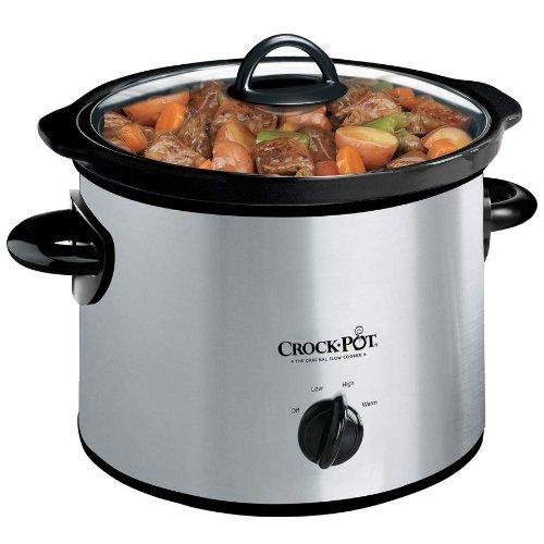 Round Manual Slow Cooker