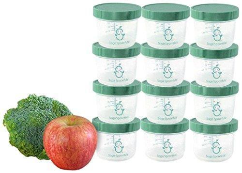 Baby Food Making Tools-Sage Spoonfuls Big Batch Storage Set