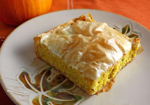 Savoury Pumpkin Pie Recipe