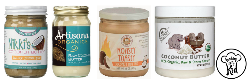 Coconut Butter. Buy Coconut Butter through Amazon.