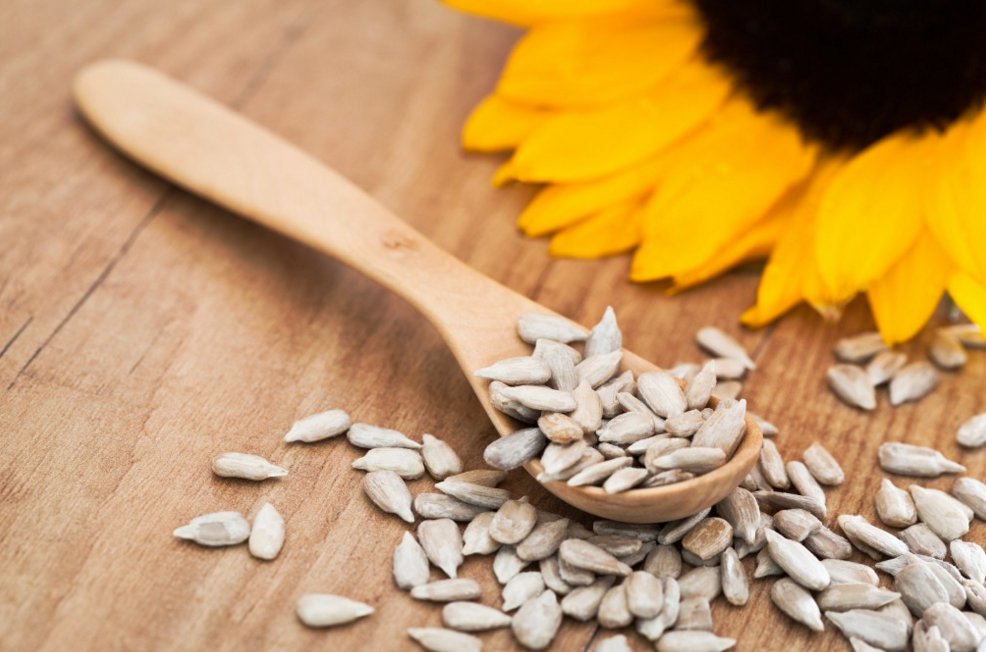 Sunflower Seeds as a finger foods for toddlers