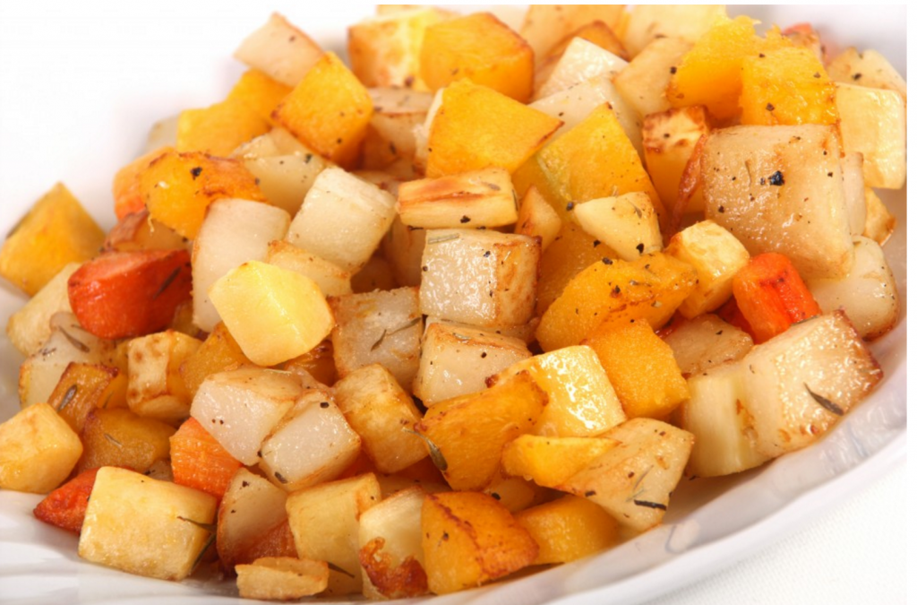 Roasted Veggies are a Great Finger Food for Babies and Toddlers