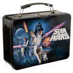 Star Wars Tin Lunch Box. Kids will love this fun throw back lunch box!