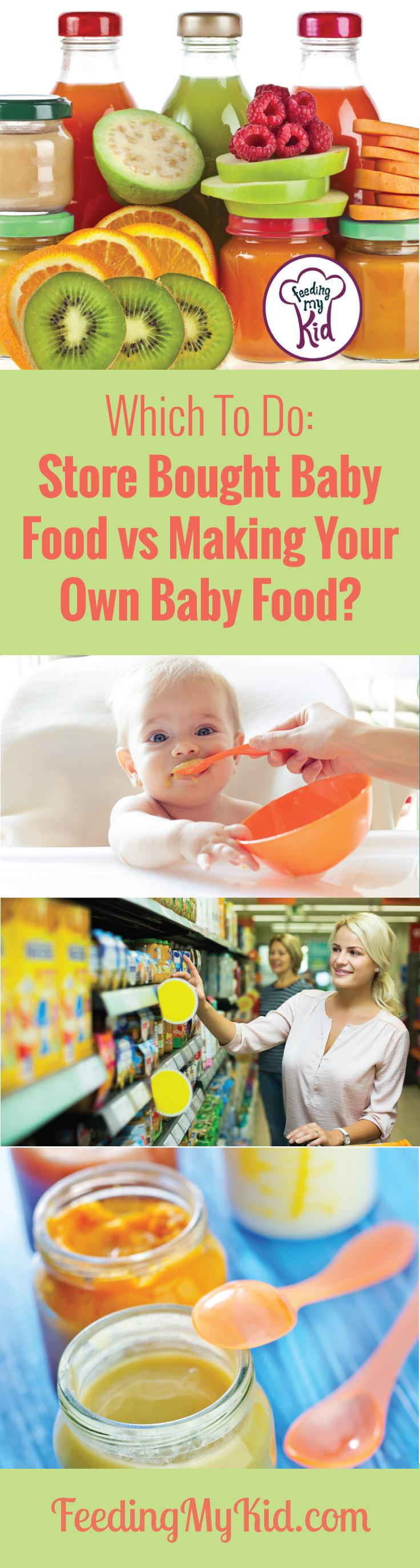 Should You Make Your Own Baby Food? Find out the Pros and Cons