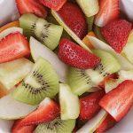Pears Kiwi Strawberry Pineapple