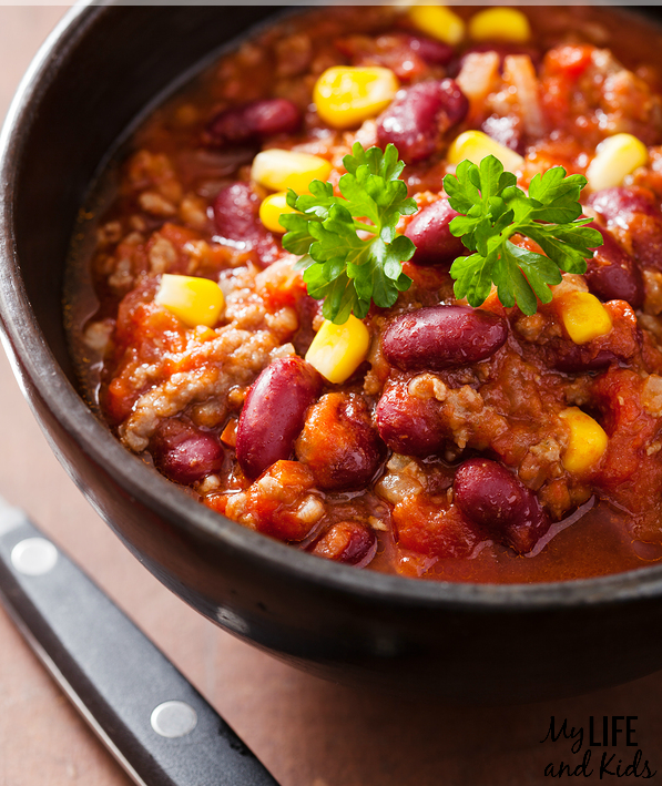 Vegetarian Crock Pot Chili Recipe
